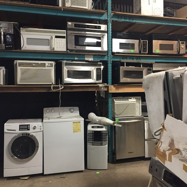 Appliances galore!
