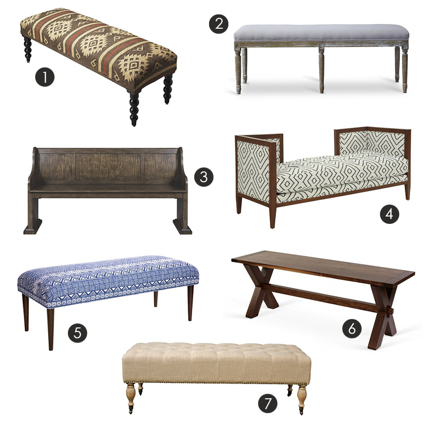 Delightful Bench Types Part - 2: Take A Load Off And Rest Your Weary Feet On This Comfy Bench! Benches Are  Super Versatile Piece Of Furniture, And A Great Addition To Many Types ...