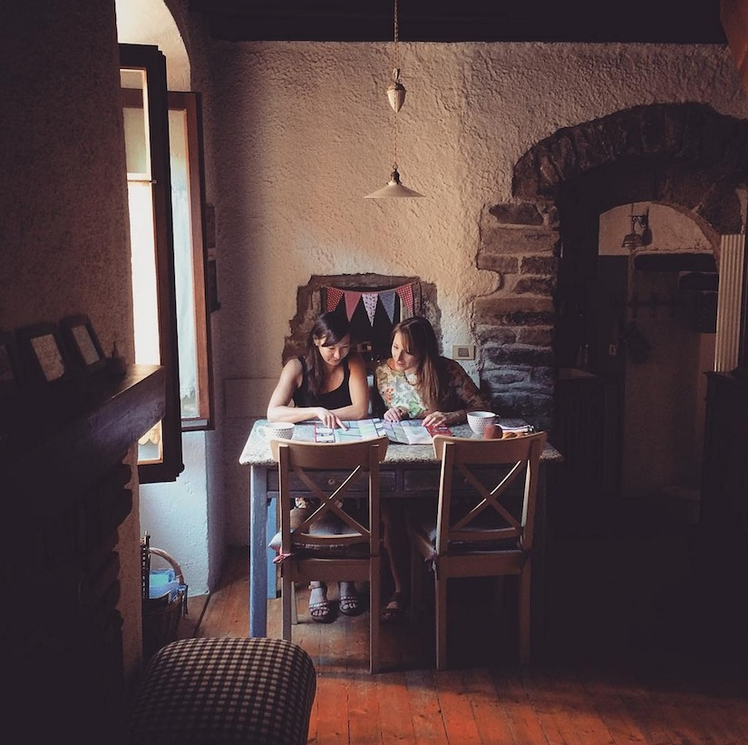 "Our lovely little Airbnb, ""Il Garot"". Image via @jungletimer on Instagram."