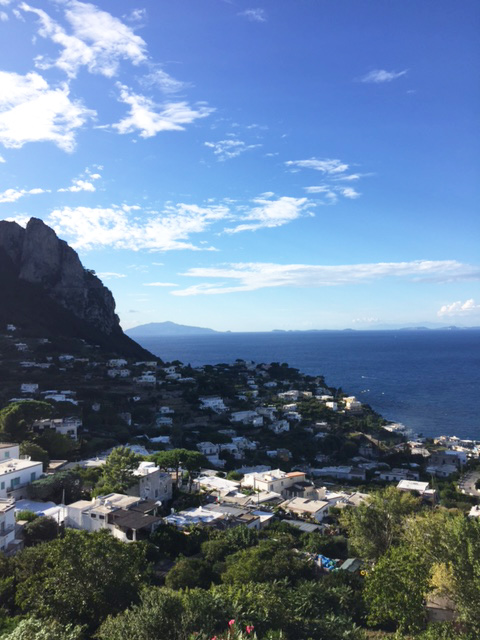 Goodbye Capri! Until we meet again. Image via @lweatherbee on Instagram.