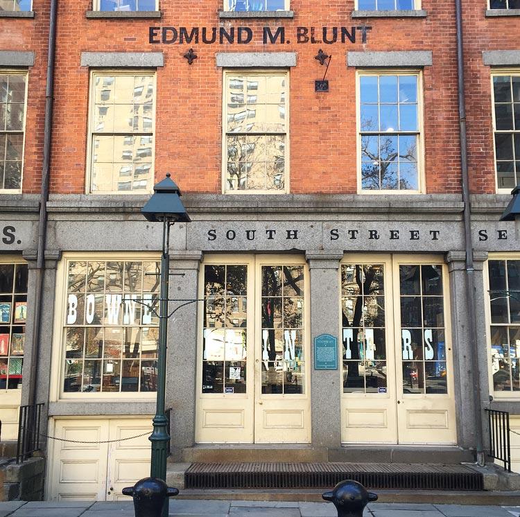 Bowne Printers opened in 2012.Image via @lweatherbee.