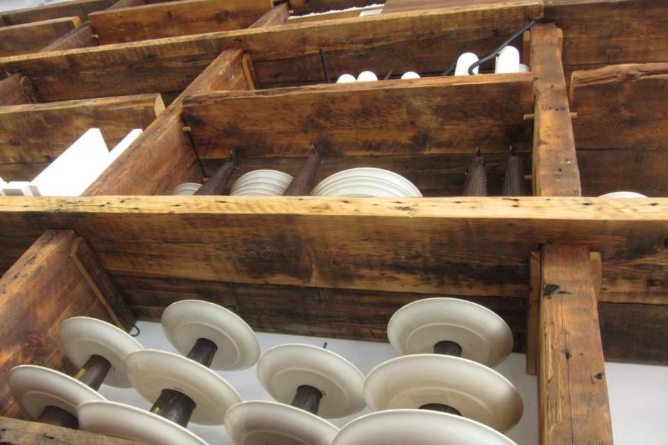 Eastern White Pine shelving.Image via Sawkill Lumber Company.