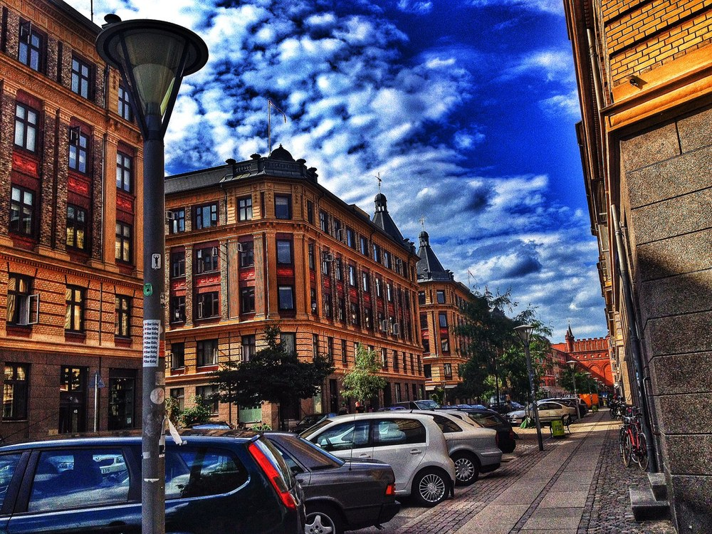 Charming Street of Copenhagen, like what you would see in the children's book!