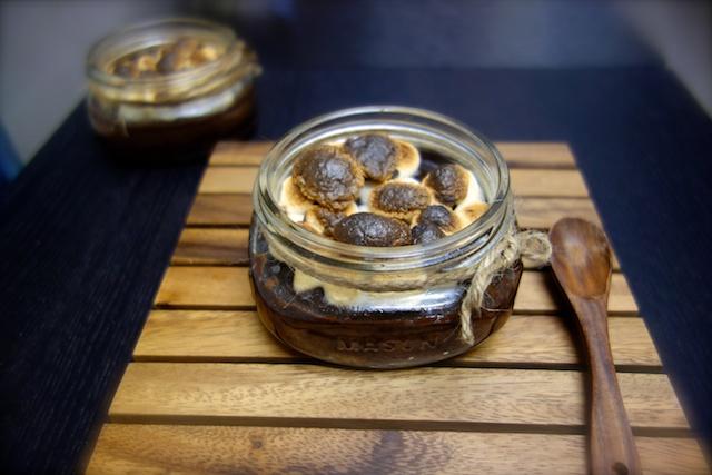 S'mores Jar Pie