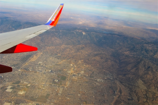 southwest was dc to lax