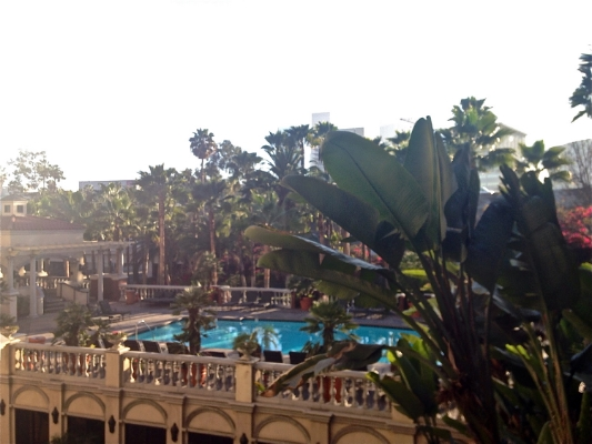 Resort-style pools I enjoyed for my first few weeks in LA