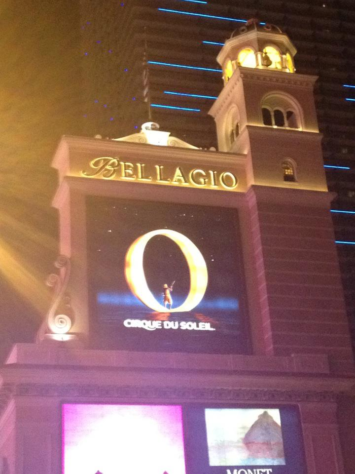 Visiting Cirque du Soleil's 'O' at the Bellagio