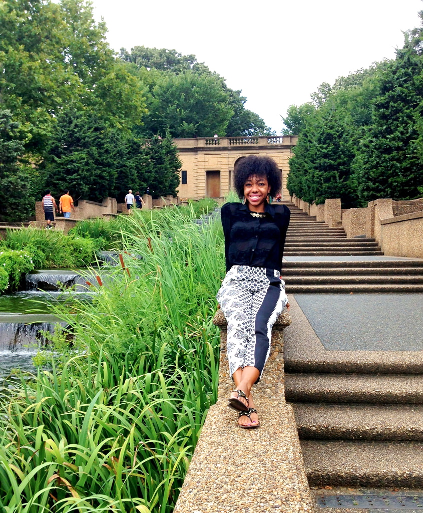 A visit to  Meridian Hill Park /Malcolm X Park - on Sundays it's home to a super-lively  Drum Circle