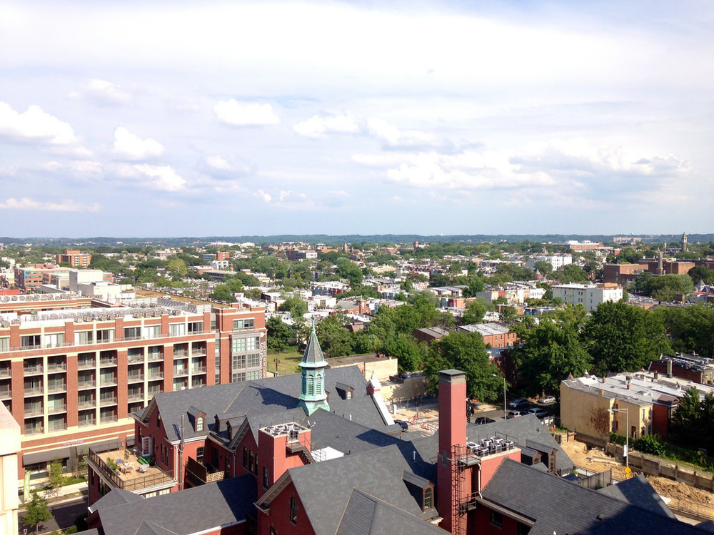washington dc luxury apartment view