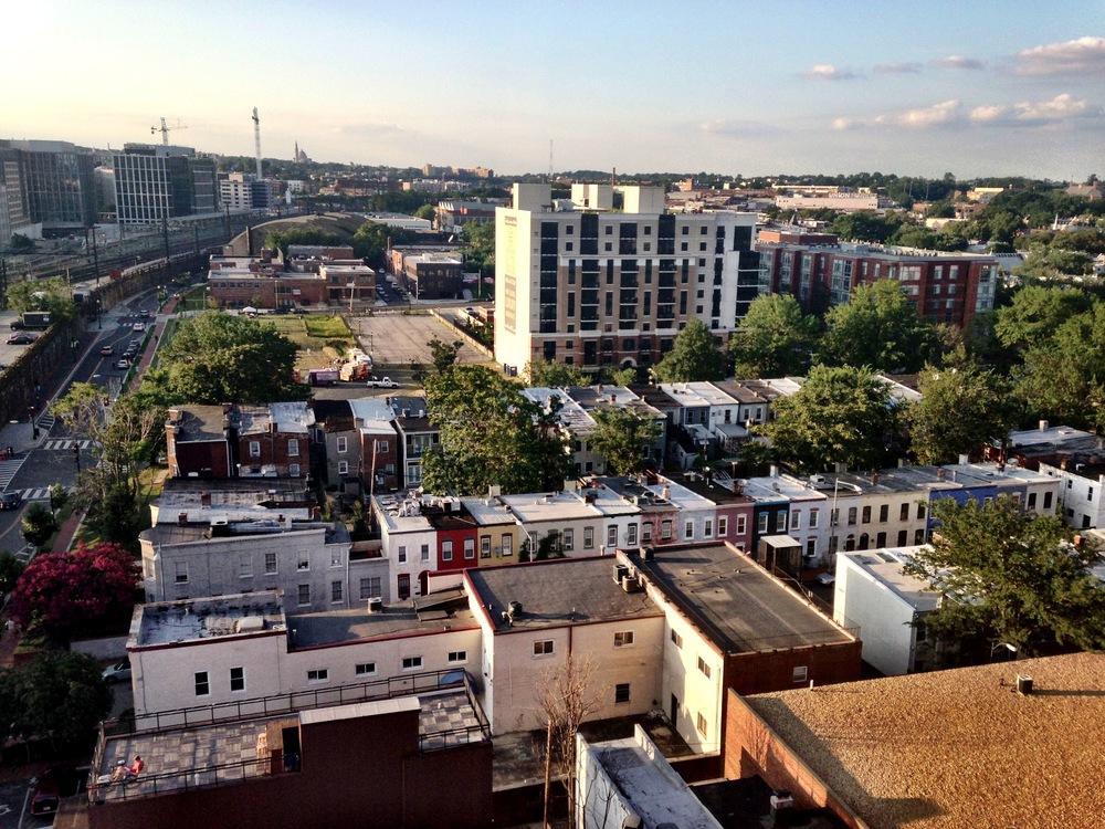 washington dc apartment building rooftop