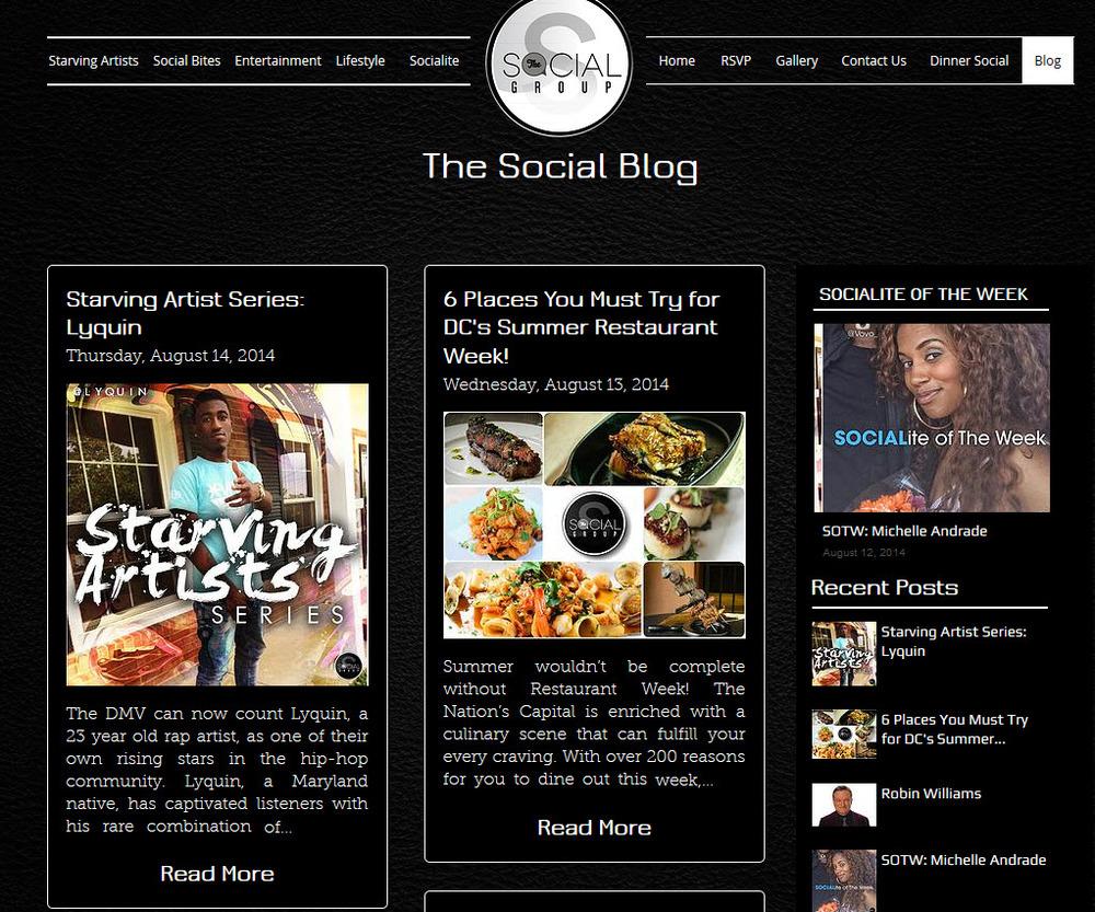 social group dc blog