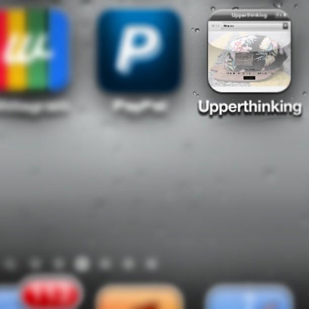 upperthinking mobile application