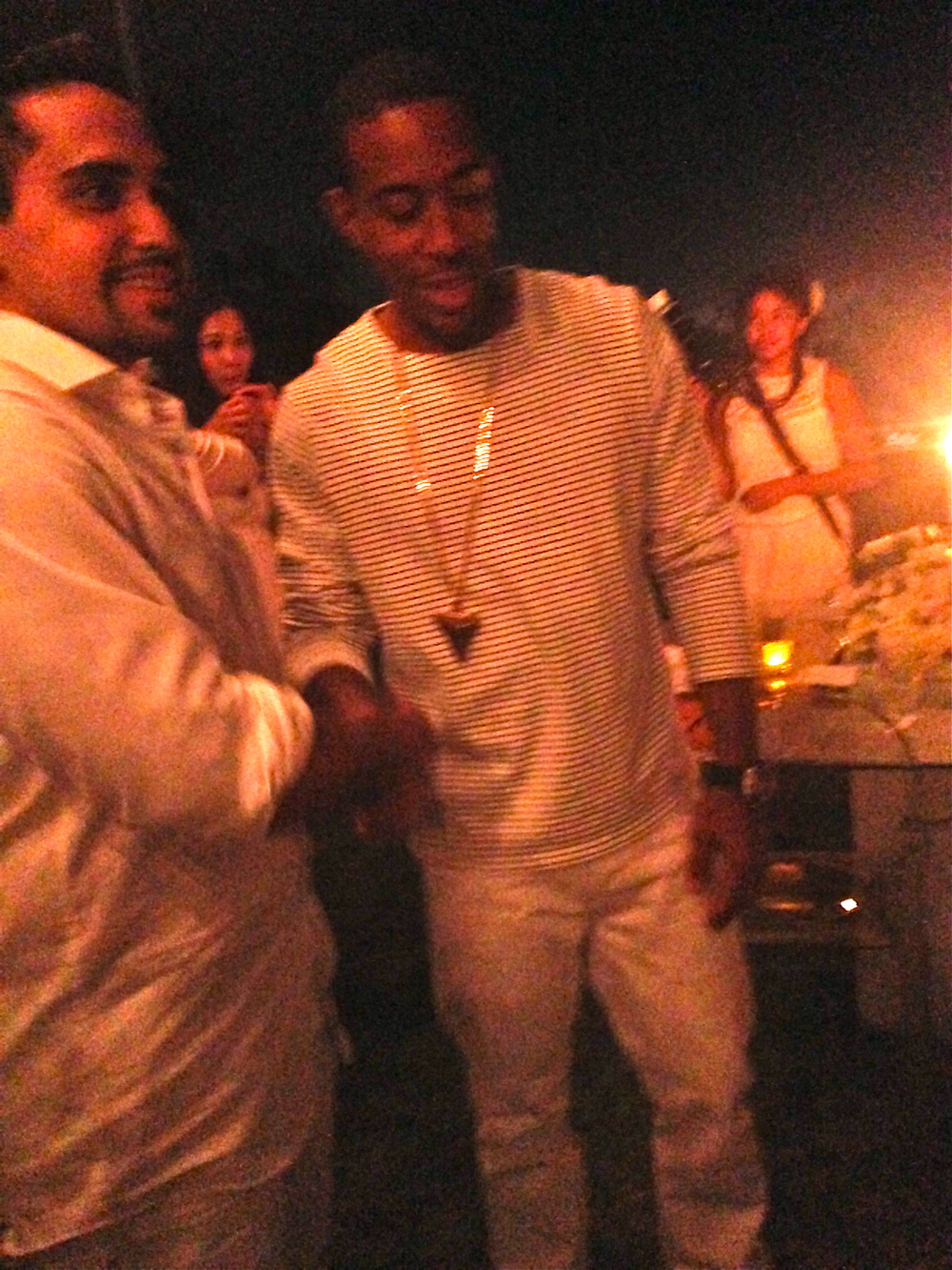 3 feet away from Ludacris and this was the best pic I could snap :(