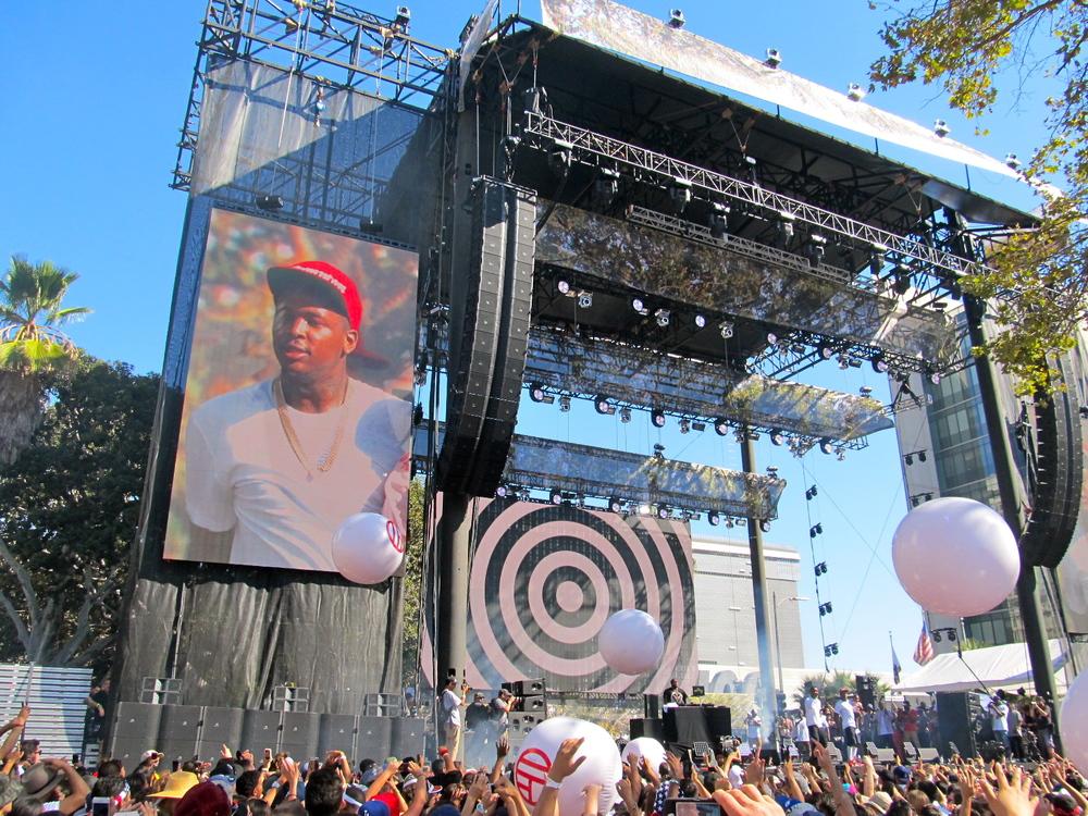 YG @ Made in America LA
