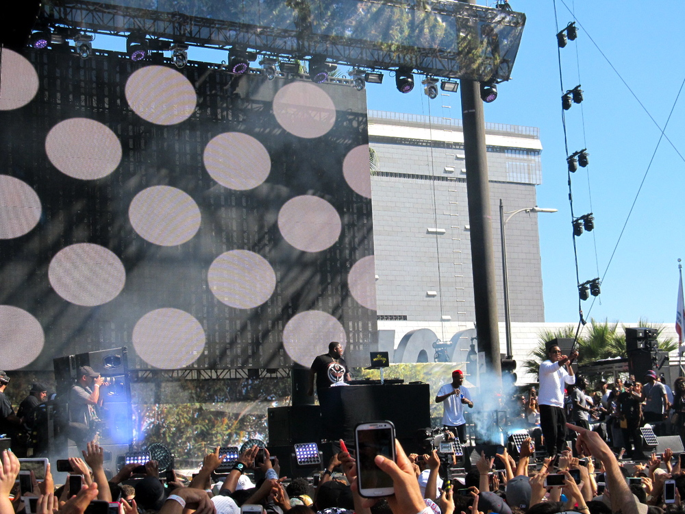 Jeremih and DJ Mustard @ Made in America LA