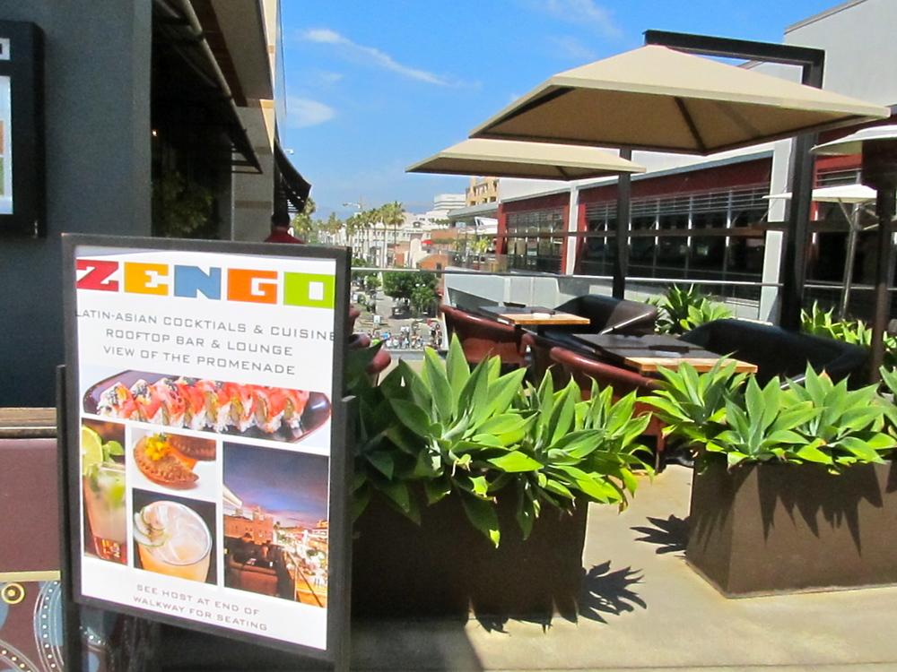 Zengo Rooftop Bar & Lounge for Sunday brunch