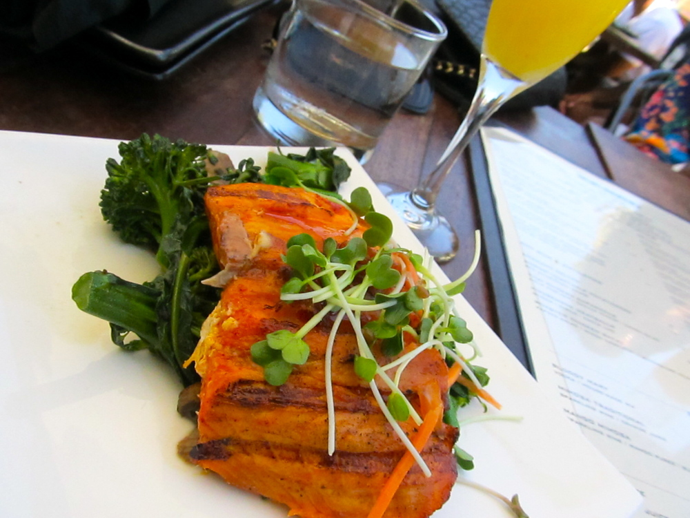 Grilled Achiote Salmon - my fav