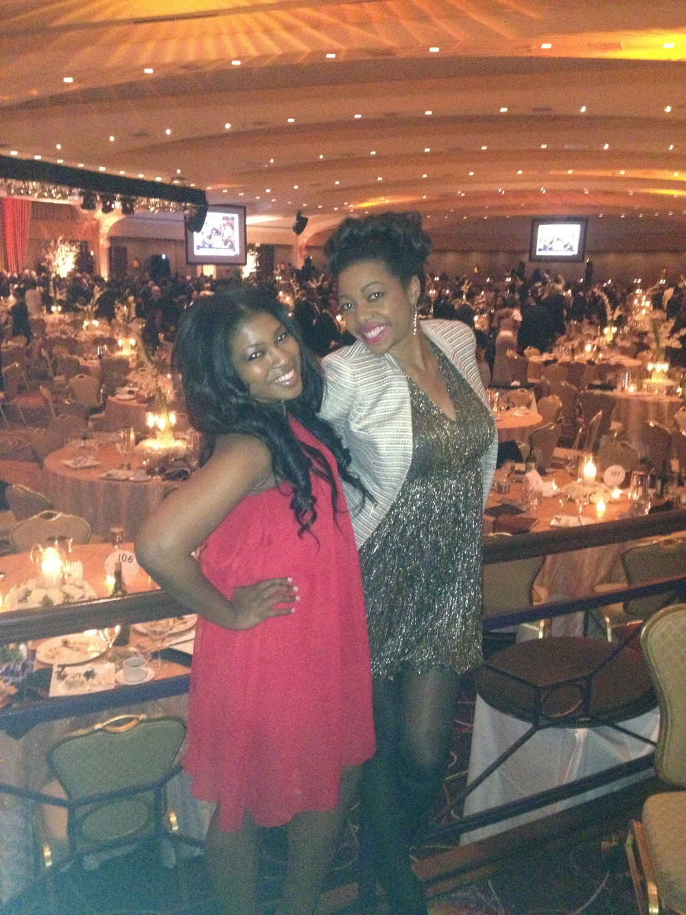 Dri snuck me into Howard's fancy Bison Ball, 2013 | DC