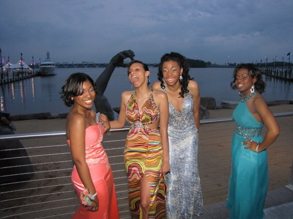 Cracking up per us' - prom night, 2009 | Ft. Washington Harbor