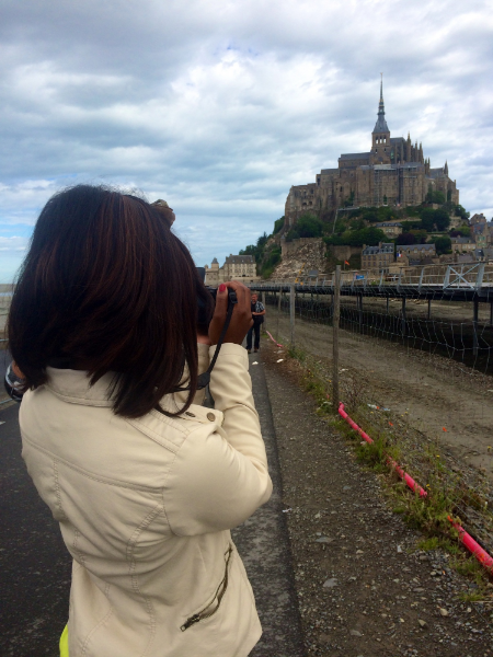 Visiting Mont Saint-Michel in Brittany, France