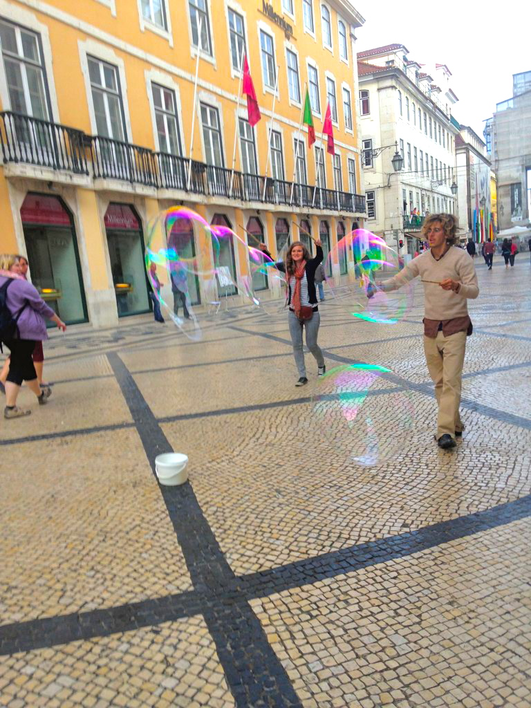 historic lisbon bubbles