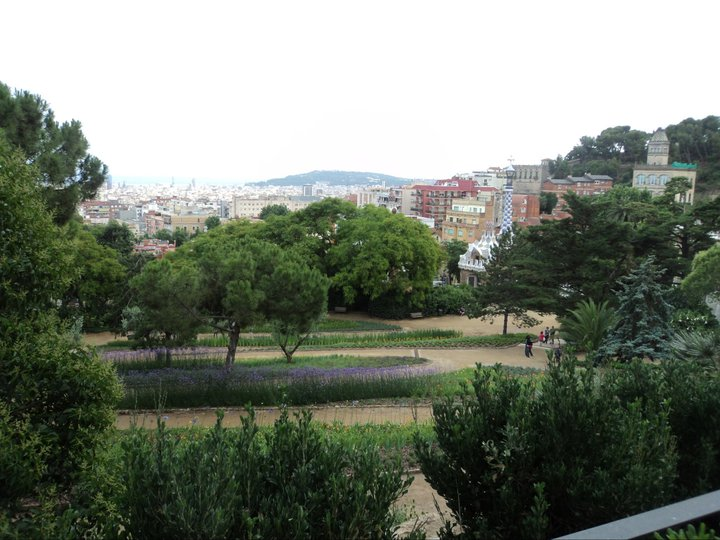 view from Park Guell during my 2011 stopover