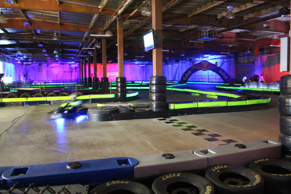 burbank racers edge indoor go kart