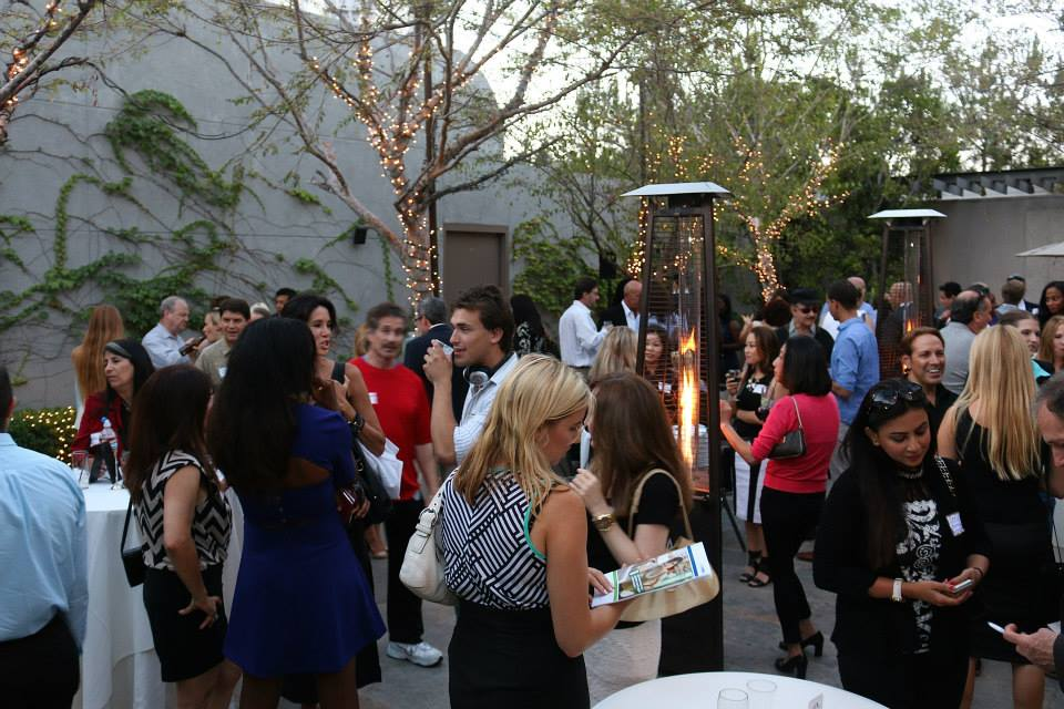 Los Angeles networking group  L7 Scene  coordinates several events per month; I'd recommend checking them out