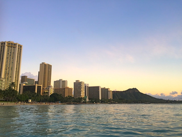 waikiki_Beach_oahu_sunset