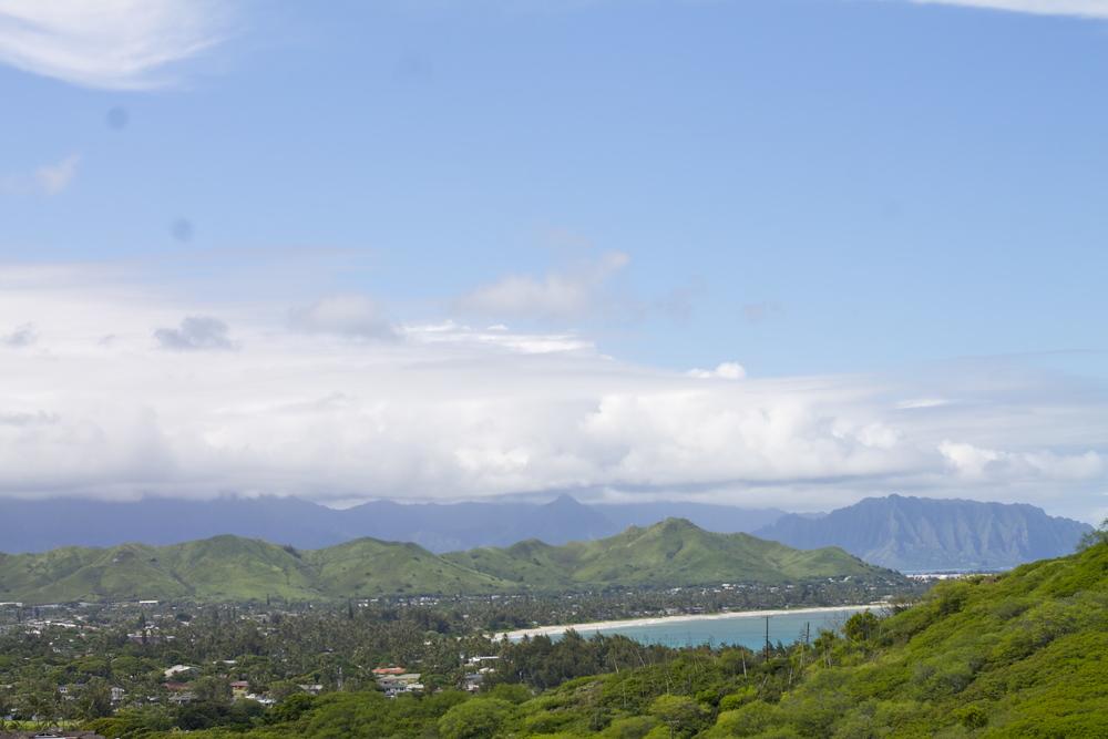 oahu hiking lanikai hawaii
