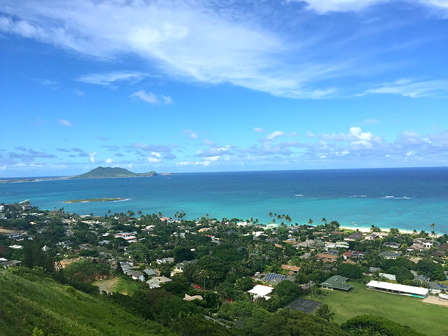 lanikai hike view