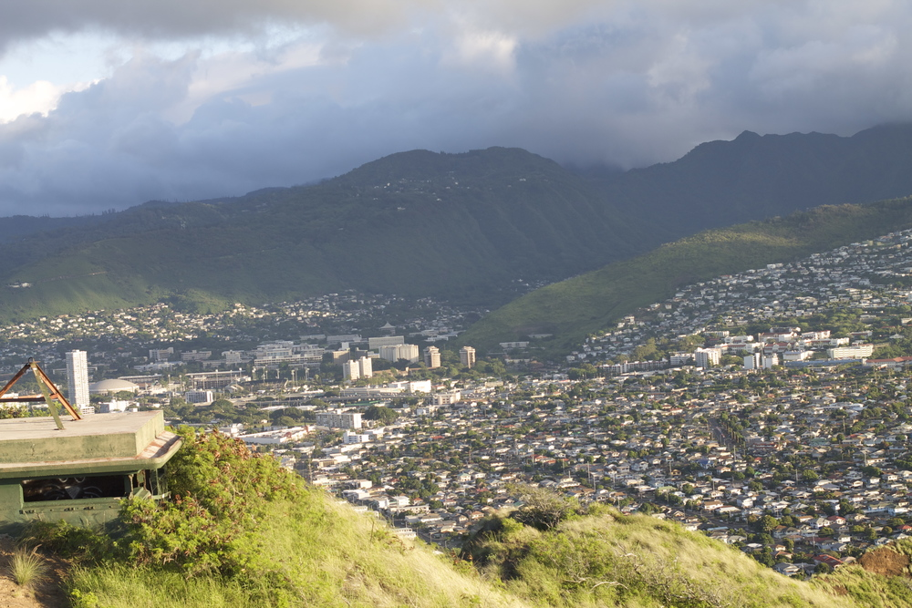 Diamond Head State Aerial View