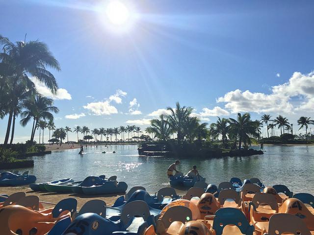 Hilton Hawaiian Village Lagoon