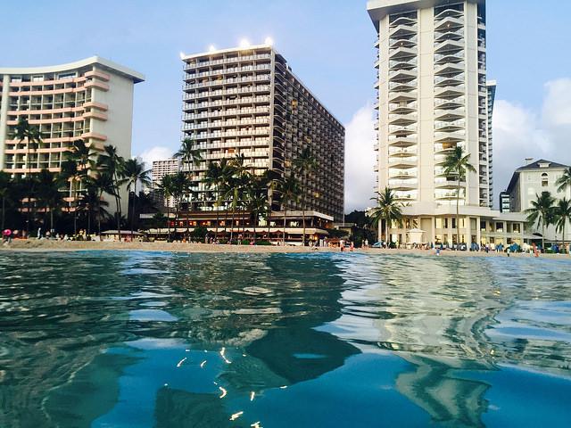 Waikiki Beach swim