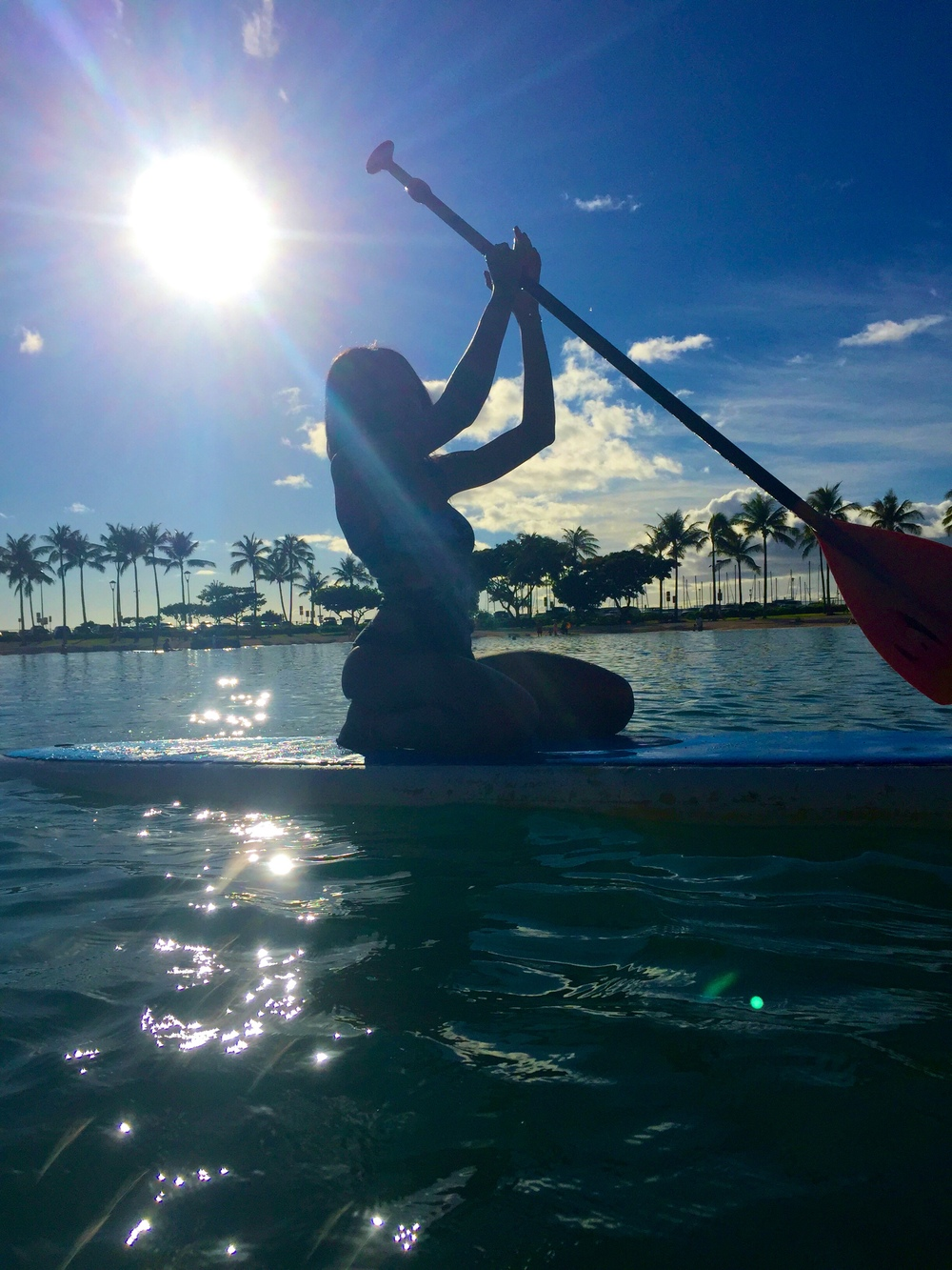 Black adventurist Honolulu Hawaii