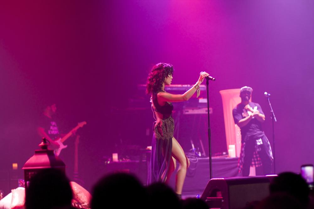 Jhene Aiko Concert Club Nokia