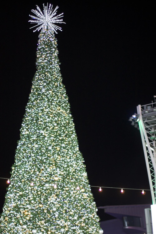 Downtown LA's Christmas tree