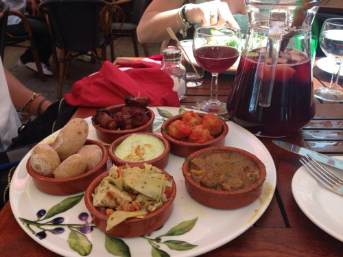 Spanish tapas + Sangria in Berlin
