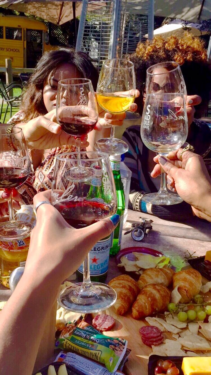 malibu family wines toast