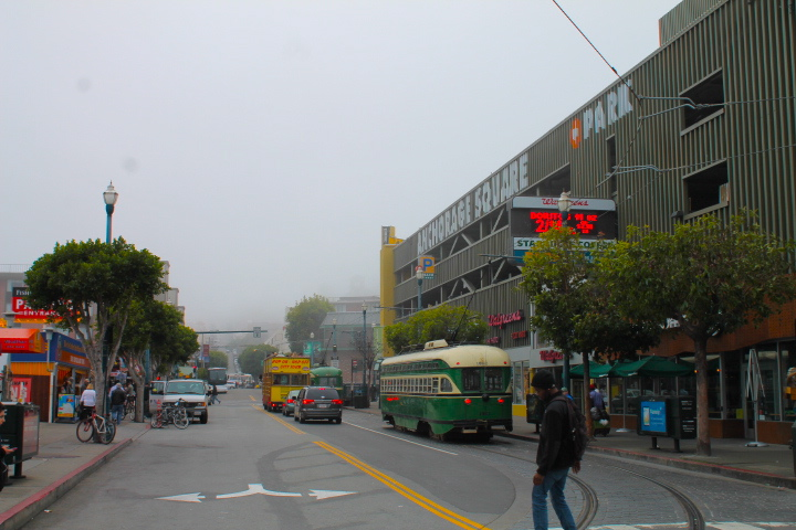 fisherman's wharf san francisco foggy