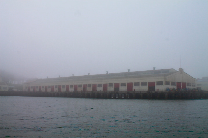 Loading dock for Alcatraz prisoners