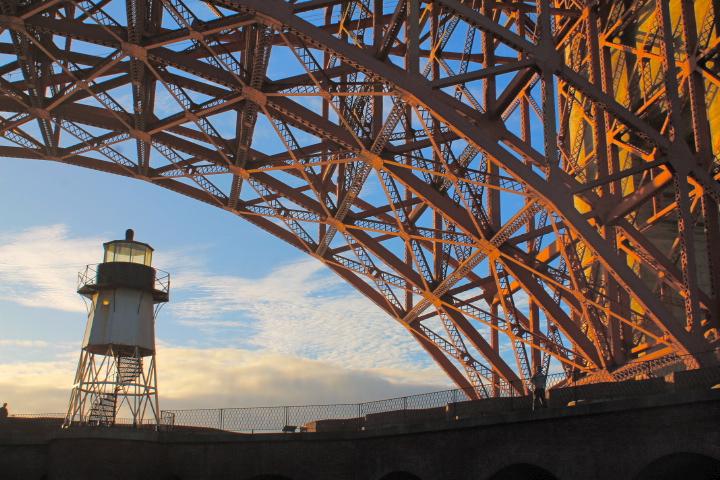 golden gate bridge san francisco fort point blog