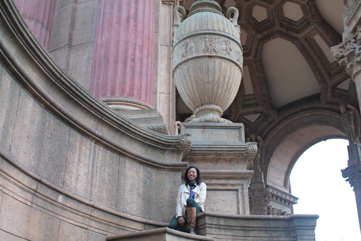 Being a rebel at the Palace of Fine Arts