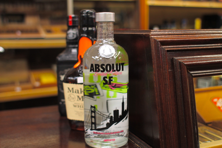 Not a fan of vodka, but I think Absolut's special edition city bottles are so cute
