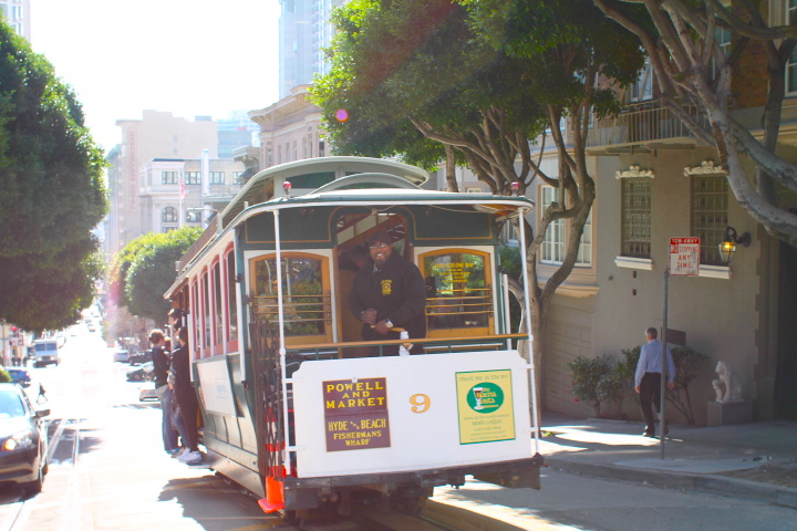 san francisco trolley ride landmarks