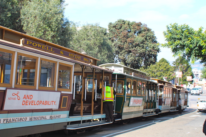 End of the trolley line