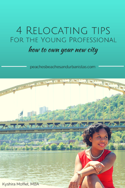 Young Professional's tips for relocating