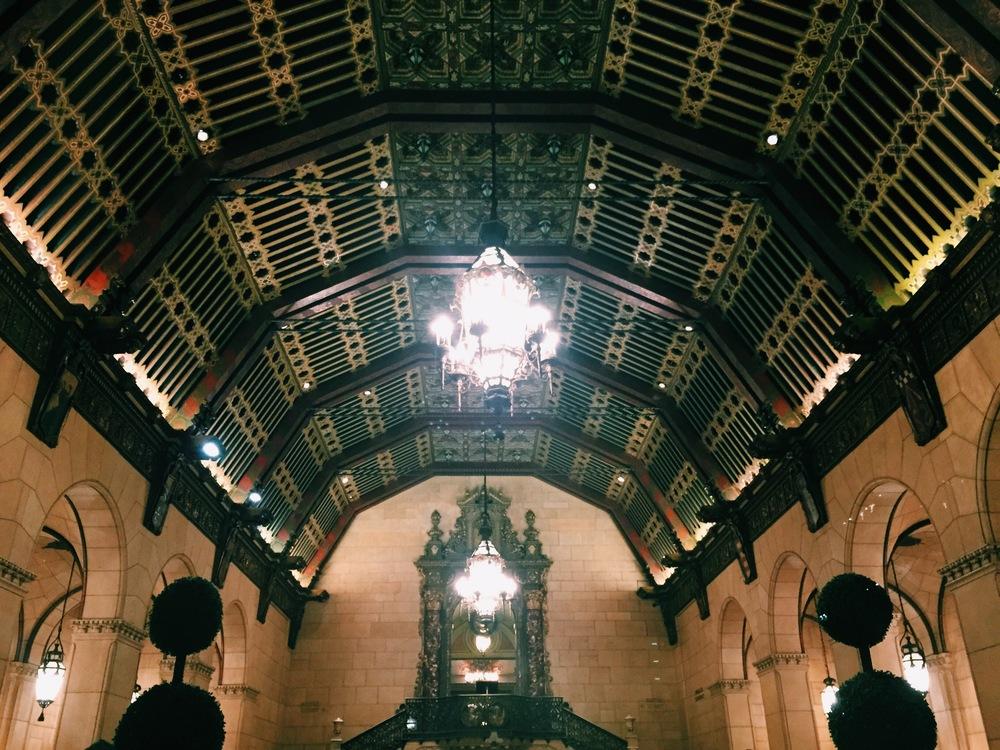 Millennium Biltmore Hotel downtown LA