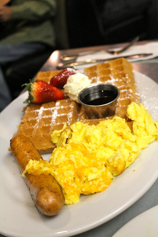 Hash House waffle