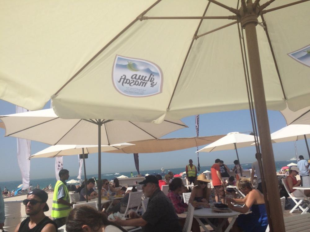 Food Truck Festival in Dubai on Jumeirah Beach